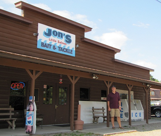 Jon's store outside